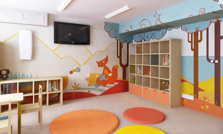 Дизайн детский центр