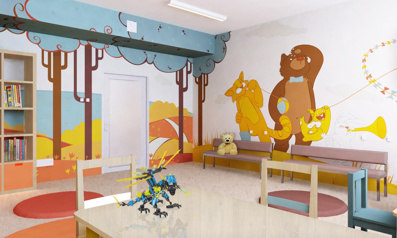 оформление игровая комната в больнице узнать, как